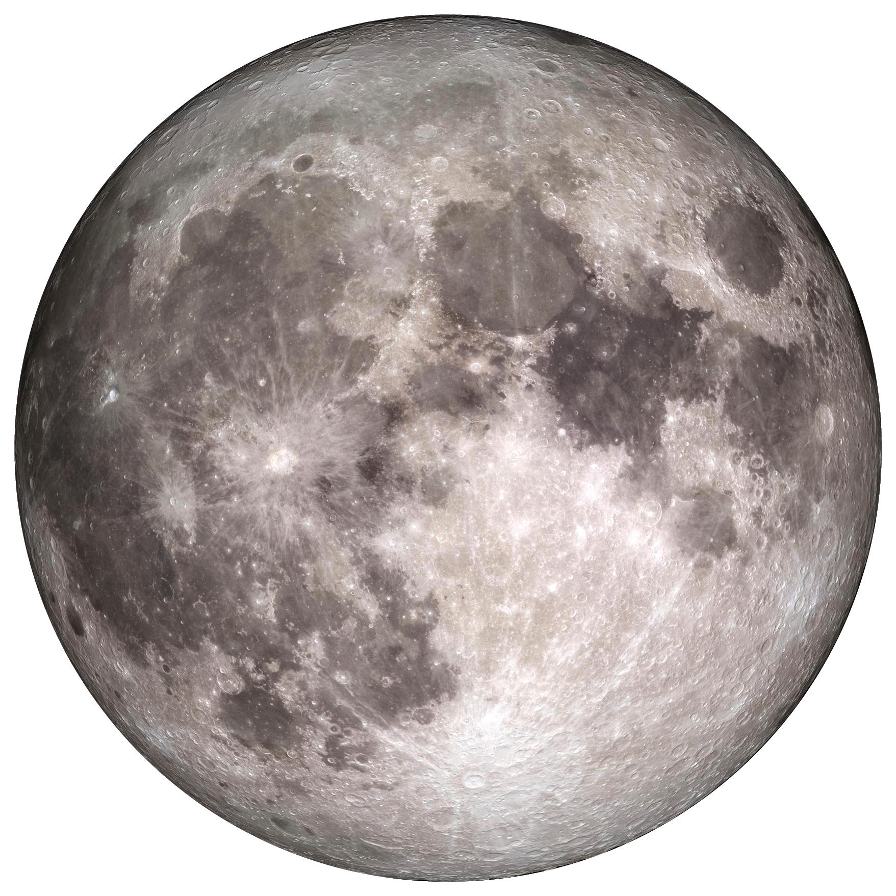 Wandcirkel Volle Maan